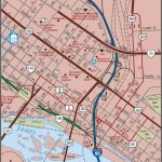 Richmond   Downtown Map Pertaining To Printable Map Of Richmond Va