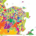 Rio De Janeiro, Brazil, Colorful Vector Map Stock Vector In Printable Map Of Rio De Janeiro