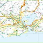 Rio Road Map   Rio De Janeiro Road Map (Brazil) With Regard To Printable Map Of Rio De Janeiro