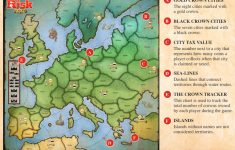 Risk Board Game Printable Map