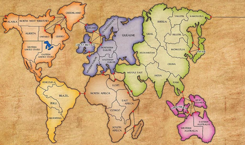 Risk Board North Africa Map | Biofocuscommunicatie regarding Risk Board Game Printable Map