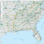 Road Map For Eastern Us Best Of Amazing Road Map Southeastern United For Printable Map Of Eastern United States