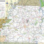 Road Map Of Arizona And California Printable Maps Map Of West Within Printable Map Of Tennessee