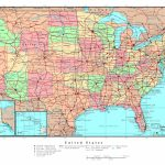 Road Map Of East Coast United States Valid Printable Map The United Inside Printable State Road Maps