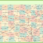 Road Map Of Kansas With Cities Pertaining To Printable Kansas Map With Cities
