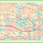 Road Map Of Nebraska With Cities For Printable Road Map Of Nebraska