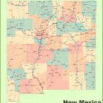 Road Map Of New Mexico With Cities With Regard To Printable Map Of New Mexico