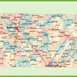 Road Map Of Tennessee With Cities With Regard To State Map Of Tennessee Printable