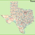 Road Map Of Texas With Cities Texas Road Map Printable With Printable Map Of Texas
