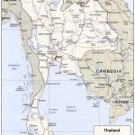 Road Map Of Thailand 16 Printable Map Of Thailand   Earthwotkstrust Throughout Printable Map Of Thailand