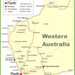 Road Map Of Western Australia With Cities And Towns Intended For Printable Map Of Western Australia