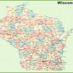 Road Map Of Wisconsin With Cities For Map Of Wisconsin Counties Printable