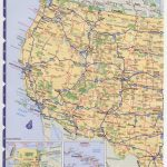 Road Map Usa. Detailed Road Map Of Usa. Large Clear Highway Map Of Pertaining To Printable Road Map Of Western Us