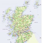 Roadmap Of Scotland – Scotland Info Guide Pertaining To Printable Map Of Scotland