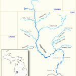 Rogue River (Michigan)   Wikipedia In Michigan River Map Printable