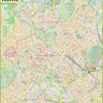 Rome Maps | Italy | Maps Of Rome (Roma) For Street Map Rome City Centre Printable