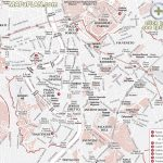 Rome Maps   Top Tourist Attractions   Free, Printable City Street With Street Map Of Rome Italy Printable