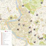 Rome Printable Tourist Map | Sygic Travel Within Printable Walking Map Of Rome