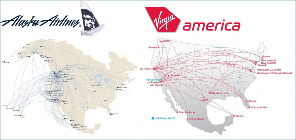Route Maps Alaska Virgin Jpg Fit 1575 2C746 America Map 4 - World within Alaska Airlines Printable Route Map