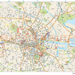 Royalty Free Dublin City Map In Illustrator And Pdf Vector Format Within Dublin City Map Printable