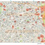 Royalty Free Madrid Illustrator Vector Format City Map Within Madrid City Map Printable