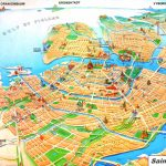 Saint Petersburg Tourist Map Pertaining To Printable Tourist Map Of St Petersburg Russia