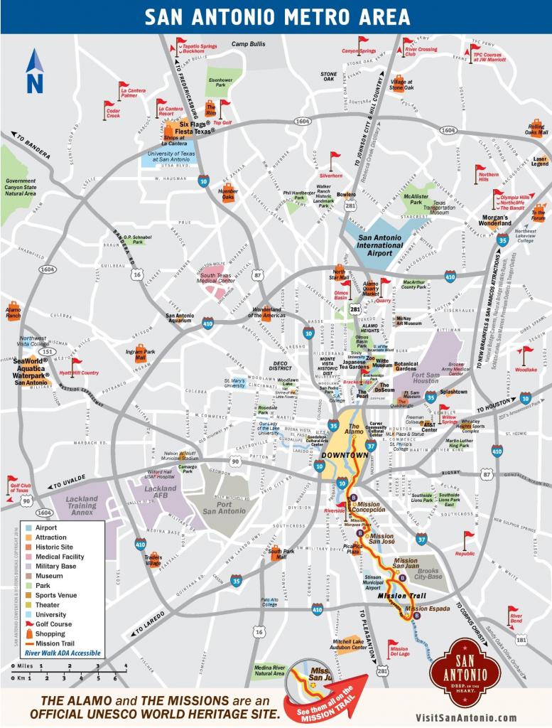 San Antonio Neighborhoods Map - Map Of San Antonio Neighborhoods intended for Printable Map Of San Antonio