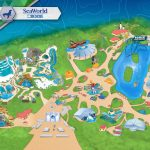 San Diego California On A Map Printable Theme Park & Attractions Map For San Diego Attractions Map Printable