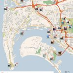 San Diego Printable Tourist Map | Sygic Travel Within San Diego Attractions Map Printable