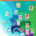 San Diego Tourism Map   San Diego Attraction Map (California   Usa) With San Diego Attractions Map Printable