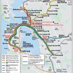 San Francisco Bart System Map (Railway)   Mapsof | San Fran Regarding Printable Bart Map