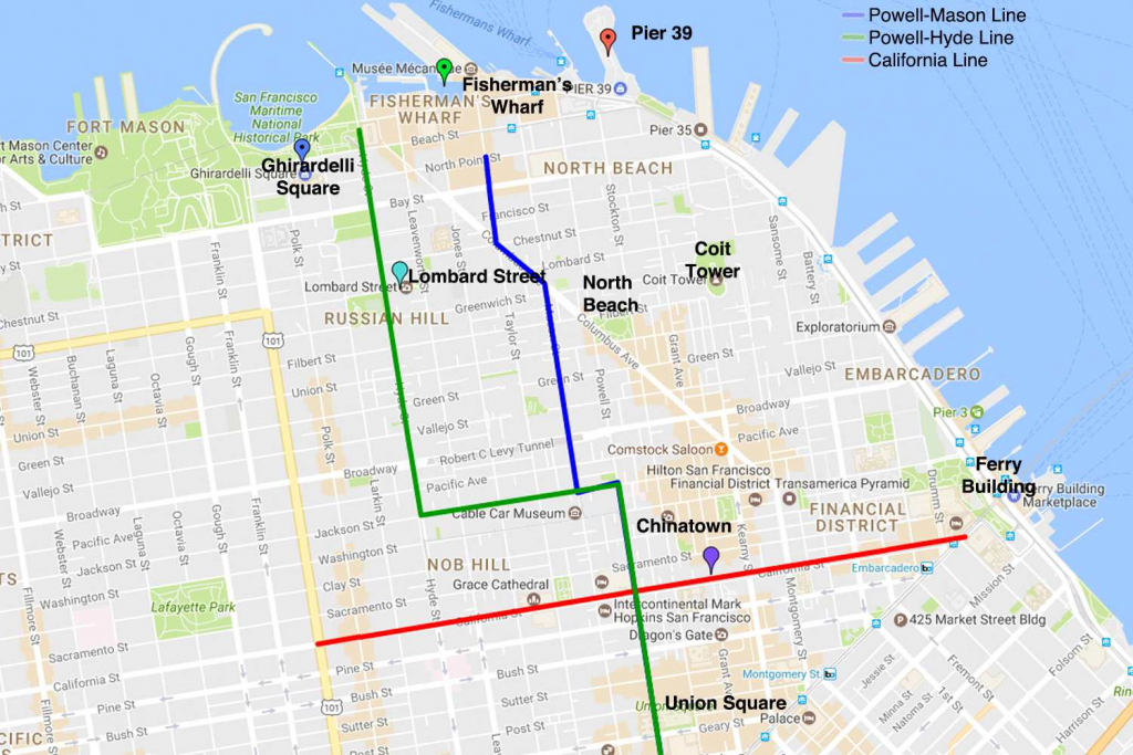 San Francisco Cable Cars Map | Park Ideas with regard to Printable Map San Francisco Cable Car Routes