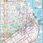 San Francisco Downtown Muni Map With Regard To Printable Map Of San Francisco Downtown