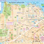 San Francisco Street Map For Printable Map Of San Francisco Streets