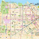 San Francisco Tourist Map   Printable Map Of San Francisco Regarding Printable Map Of San Francisco