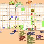 San Miguel Cozumel Map And Travel Information   Download Free San With Printable Street Map Of Cozumel