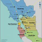 Santa Clara California Map Google Printable San Francisco Bay Area Within Printable Area Maps
