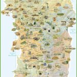 Sardinia Tourist Map Pertaining To Printable Map Of Sardinia