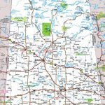 Saskatchewan Highway Map For Printable Map Of Saskatchewan