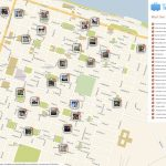 Savannah Printable Tourist Map In 2019 | Free Tourist Maps Pertaining To Printable Map Of Savannah Ga Historic District