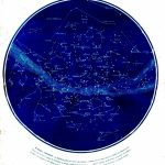 Science   Astronomy   Map   Celestial Map Of Constellations Visible With Printable Constellation Map