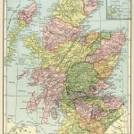 Scotland Map, Vintage Map Download, Antique Map, C. S. Hammond With Regard To Printable Map Skye