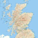 Scotland Offline Map, Including Scottish Highlands, Galloway, Isle Inside Printable Map Of Scotland