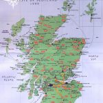Scottland | Scotland Road Map   Scotland • Mappery | Scotland Within Printable Road Map Of Scotland