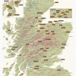 Scratch Off Scotland Whisky Distilleries Print Regarding Printable Map Of Scotland