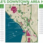 Seattle Downtown Hotels Map With Printable Map Of Downtown Seattle
