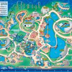 Seaworld Orlando Theme Park Map   Orlando Fl • Mappery | Aquariums Inside Seaworld Orlando Map Printable