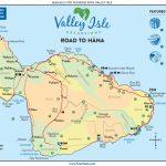 See The Road To Hana | Highway Map & Guide To Hana Maui With Maui Road Map Printable