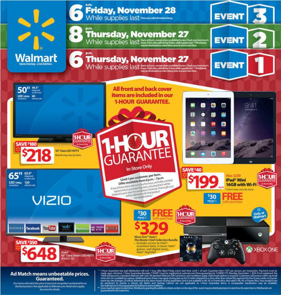 See The Walmart Black Friday Ad 2015 For All Sales, Specials And with Printable Walmart Black Friday Map