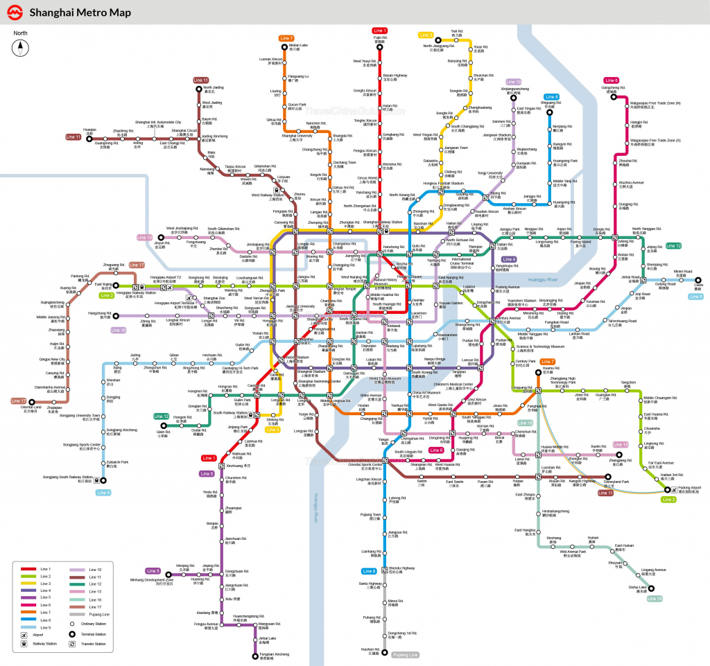Shanghai Metro Maps, Printable Maps Of Subway, Pdf Download intended for Printable Subway Map
